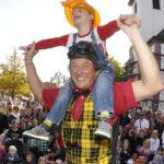 Rheinischer Kultursommer, Hildener Sommer, Clown Tiftif © Birgit Hähnen-Münch
