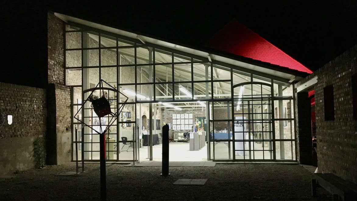 Rheinischer Kultursommer, Kunstlabor live, Atelierfoto©Blank