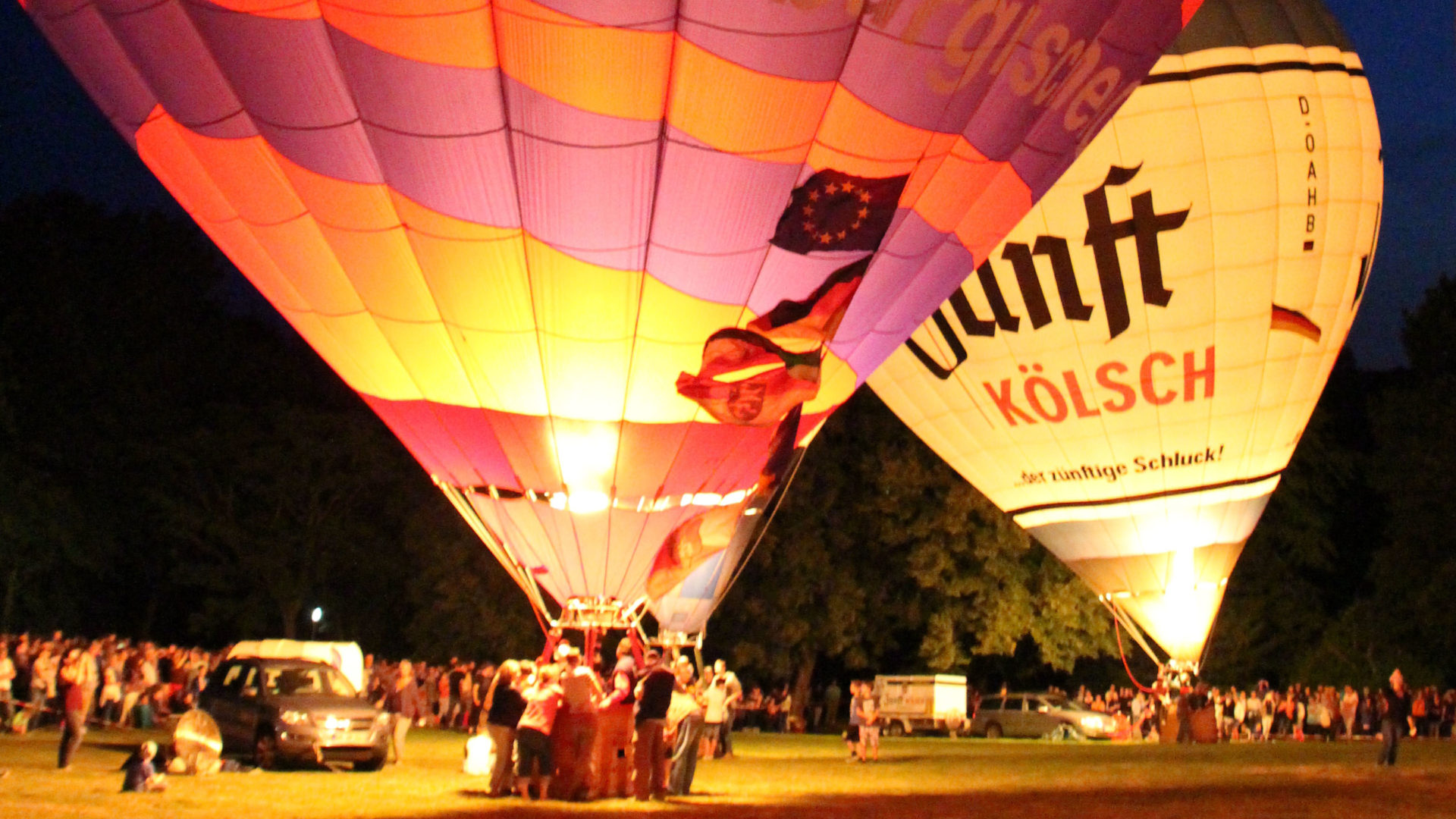 Lichterfest im Kurpark Copyright Martina Subat