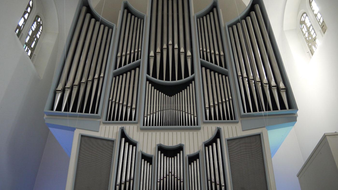 Rheinischer Kultursommer Poppelsdorfer Orgelsommer Die Orgel der Lutherkirche Bonn Marc-Jaquet