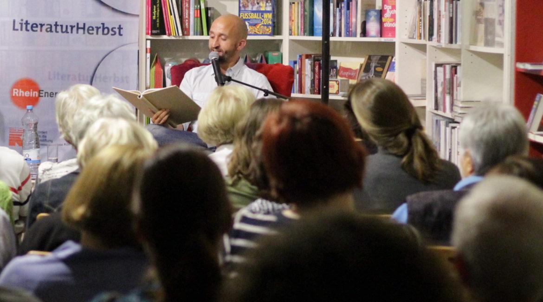 Rheinischer Kultursommer, LiteraturHerbst Rhein Erft, Mettwurst ist kein Smoothie, Markus Barth © Markus Barth, Rhein-Erft
