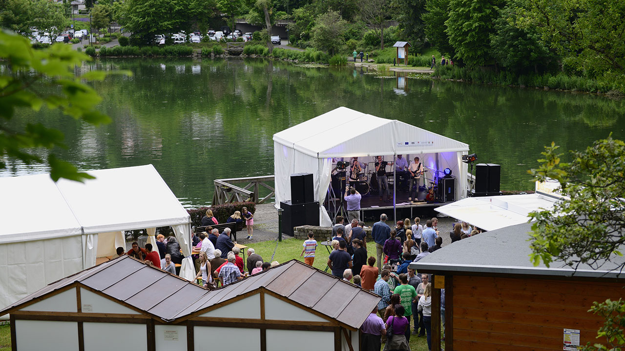 Rheinischer Kultursommer, Sommer am See, Blankenheim, Musik, Veranstaltung